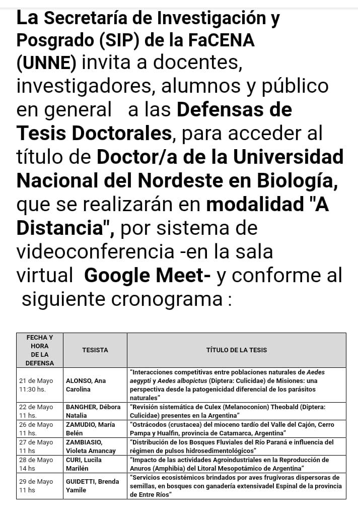 defensa tesis doctorales